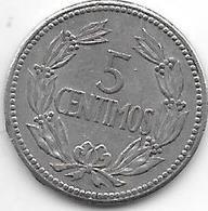 *Venezuela 5 CENTIMOS 1965  Km 38.2 - Venezuela