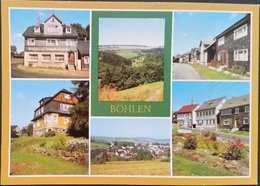 Ak DDR - Böhlen - Ortsansichten - Germany