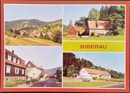 Ak DDR - Biberau - Ortsansichten - Germany