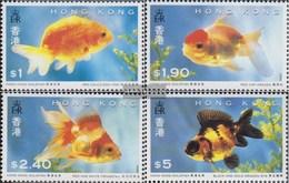 Hong Kong 705-708 (complete.issue.) Unmounted Mint / Never Hinged 1993 Goldfish - Hong Kong (...-1997)