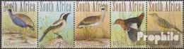 Südafrika 1967-1971 Fünferstreifen (kompl.Ausg.) Postfrisch 2010 Steppenvögel - Afrique Du Sud (1961-...)