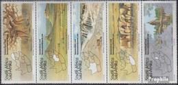 Südafrika 962-966 Fünferstreifen (kompl.Ausg.) Postfrisch 1995 Tourismus - Afrique Du Sud (1961-...)