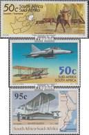 Südafrika 949,951,952 (kompl.Ausg.) Postfrisch 1995 Tourismus, Luftwaffe, Erstflug - Afrique Du Sud (1961-...)
