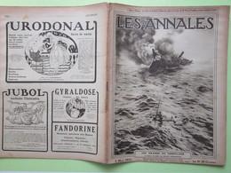 14/18 LES ANNALES Revue N°1758 CHRONOMETRE De La VICTOIRE STREMBEL - CAROLUS DURAND - TORPILLAGE Voir Sommaire 4/03/1917 - Weltkrieg 1914-18