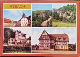 Ak DDR - Asbach - Ortsansichten - Schmalkalden