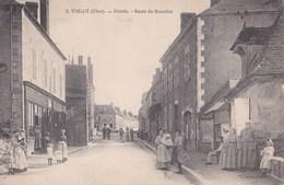 Carte 1905 VAILLY / ENTREE- ROUTE DE BEAULIEU (très Animée) - Autres Communes