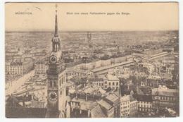 München Old Postcard Travelled 1911 B181015 - Muenchen