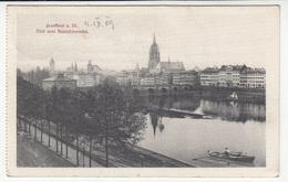 Frankfurt Old Postcard Travelled 1909 B181015 - Frankfurt A. Main