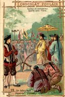 CHROMO CHOCOLAT POULAIN LE LABOURAGE IMPERIAL(CHINE) - Poulain