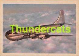 CHROMO TRADING CARD AVIATION AVION AIRPLANE PLANE PREMIERE TRADING CARDS OKAK 1957 BOEING STRATOCRUISER - Avions
