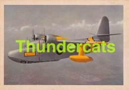 CHROMO TRADING CARD AVIATION AVION AIRPLANE PLANE PREMIERE TRADING CARDS OKAK 1957 GRUMMAN ALBATROSS - Vliegtuigen
