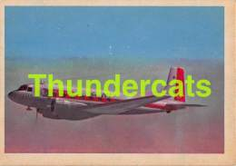 CHROMO TRADING CARD AVIATION AVION AIRPLANE PLANE PREMIERE TRADING CARDS OKAK 1957 DOUGLAS SUPER DC 3 - Vliegtuigen