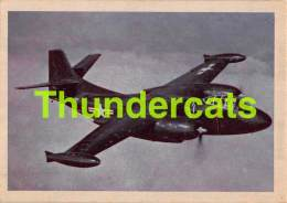 CHROMO TRADING CARD AVIATION AVION AIRPLANE PLANE PREMIERE TRADING CARDS OKAK 1957 NORTH AMERICAN AJ 1 ATTACK BOMBER - Avions