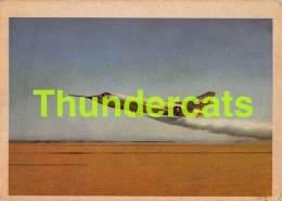 CHROMO TRADING CARD AVIATION AVION AIRPLANE PLANE PREMIERE TRADING CARDS OKAK 1957 DOUGLAS D 558 2 SKYROCKET - Avions