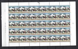 Belgie - Belgique 2090A Velletje Van 30 Postfris - Feuillet De 30 Timbres Neufs  -  BEELDDOORLOPER - Feuilles Complètes