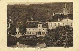 CARLSHAFEN A.d. Oberweser, Luftkurort, Haus Der Jugend, Rathaus (1920s) AK - Bad Karlshafen