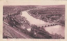 NAMUR / VUE GENERALE DE LA MEUSE  / PONT DU CHEMIN DE FER / PONT DE JAMBES / KURSAAL  1927 - Namur