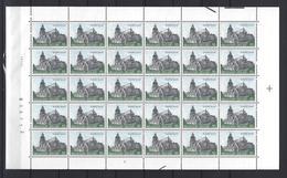 Belgie - Belgique 2138P5a - Witte Gom -  Velletje Van 30 Postfris - Feuillet De 30 Timbres Neufs - Feuilles Complètes
