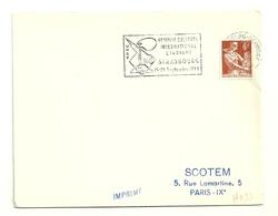 RHIN / Bas - Dépt N° 67 = STRASBOURG NEUDORF 1958 = Flamme  SECAP Illustrée 'UNEF / FESTIVAL CULTUREL ETUDIANT' - Postmark Collection (Covers)