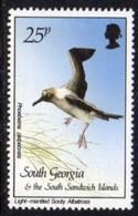 South Georgia 1987 Birds Definitives 25p Sooty Albatross Value, MNH, SG 172 - Falkland Islands
