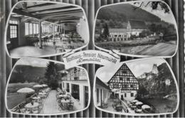AK 0056  Donautal ( Post Thiergarten Sigmaringen ) - Gasthaus Neumühle / Bahnpost Um 1963 - Hotels & Gaststätten