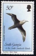 South Georgia 1987 Birds Definitives 50p Giant Petrel Value, MNH, SG 173 - Falkland Islands