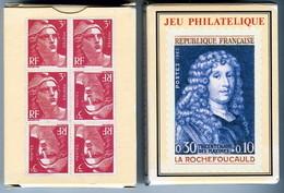 Jeu De 55 Cartes à Jouer Grimaud PHILATELIE TIMBRE ROUGE NEUF - Playing Cards (classic)
