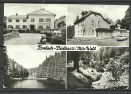 Deutschland DDR 1987 TAMBACH-DIETHARZ Thür. Wald Waldgaststätte Am Nesselberg Sauber Unbenutzt - Tambach-Dietharz