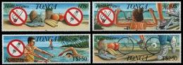 Tonga 1993 - Mi-Nr. 1268-1271 ** - MNH - Fitness - Tonga (1970-...)