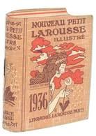Petit Livret Pub Dictionnaire Larousse Illustré 1936 - Advertising