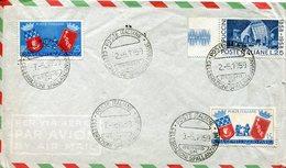39022 Italia, Special  Postmark 1959 Reggio Emilia, Celebrazioni Lazzaro Spallanzani, Jesuit, Biologist, Gesuita - Celebrità