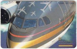 JORDAN A-850 Chip Alo - Traffic, Airplane / Landmarks Of The World - Used - Jordan