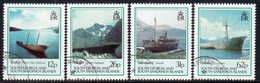 South Georgia 1990 Shipwrecks & Hulks Set Of 4, Used, SG 197/200 - Falkland Islands