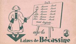BUVARD AVEC LES LAINES DE BECASSINE - Textilos & Vestidos