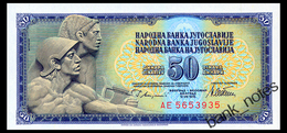 YUGOSLAVIA 50 DINARA 1978 Pick 89a Unc - Jugoslawien