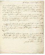 MEDECIN BIOLOGISTE ALLEMAND JOHANN FRIEDRICH BLUMENBACH (GOTHA 1752-GÖTTINGEN 1840) LAS DE GÖTTINGEN 1837 - Autógrafos