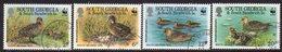South Georgia 1992 Endangered Species Teal Bird Set Of 4, Used, SG 214/7 - Falkland Islands