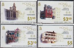 Hongkong 780-783 (kompl.Ausg.) Postfrisch 1996 Städtisches Erbe - Hong Kong (...-1997)