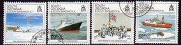 South Georgia 1992 10th Anniversary Of Liberation Set Of 4, Used, SG 218/21 - Falkland Islands