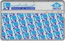 MAROC A-185 Hologram Itissalat - 936B - Used - Morocco