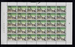 Belgie - Belgique 2155 - Kerstmis -  Velletje Van 30 Postfris - Feuillet De 30 Timbres Neufs - Feuilles Complètes