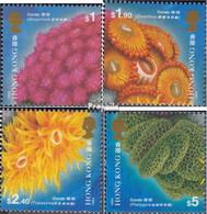 Hongkong 728-731 (kompl.Ausg.) Postfrisch 1994 Korallen - Hong Kong (...-1997)