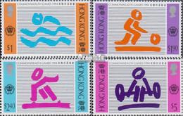 Hongkong 723-726 (kompl.Ausg.) Postfrisch 1994 Commonwealthspiele - Hong Kong (...-1997)