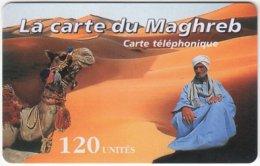 MAROC A-277 Prepaid Maghreb - Landscape, Desert, Animal, Camel - Used - Morocco