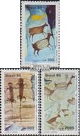 Brésil 2108A-2110A (complète.Edition.) Oblitéré 1985 Exposition Philatélique - Brazil