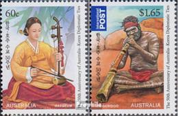 Australien 3632-3633 (kompl.Ausg.) Postfrisch 2011 Südkorea - Nuovi