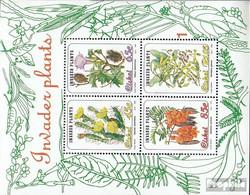 Südafrika - Ciskei Block9 (kompl.Ausg.) Postfrisch 1993 Eingeführte Pflanzen - Ciskei