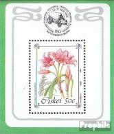 Südafrika - Ciskei Block3 (kompl.Ausg.) Postfrisch 1988 Gefährdete Pflanzen - Ciskei
