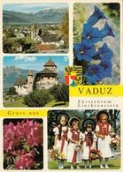 Liechtenstein - Vaduz , Enzian , Trachten 1982 - Liechtenstein
