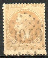 FRANCE - 1868 - Second Empire - Napoléon III Lauré - N° 28B - 10 C. Bistre - (Oblitération : Losange Gros Chiffres) - 1863-1870 Napoléon III Lauré